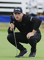 Golf - 2018 Sky Sports British Masters - Thursday, First Round<br /> <br /> Matt Wallace of England, at Walton Heath Golf Club.<br /> <br /> COLORSPORT/ANDREW COWIE
