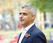 Sadiq Khan Poppy Appeal 31st October 2017