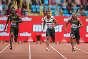 Men's 100m Final, won by Christian COLEMAN of the United States during the Muller Grand Prix 2018 at Alexander Stadium, Birmingham, United Kingdom on 18 August 2018. Picture by Toyin Oshodi.