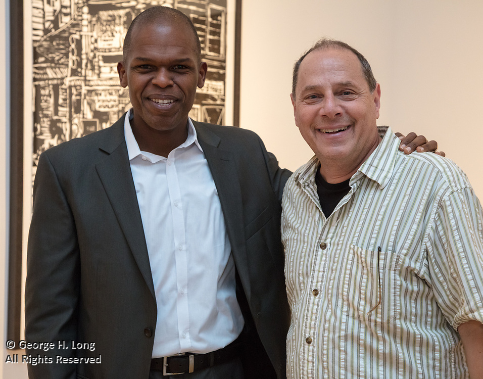 Louisiana Endowment for the Humanities publication party for the Fall 2017 issue of Louisiana Cultural Vistas magazine at Arthur Roger Gallery in New Orleans