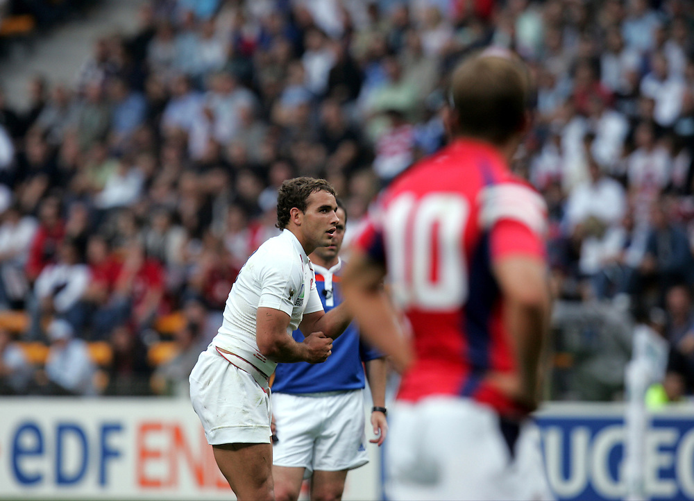 England v USA, Game 4, Rugby World Cup 2007, Lens, France, 8th September 2007.