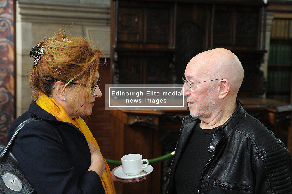 Dunfermline museum opening,Dunfermline, 6-9-2017<br /> <br /> Barbara Dickson and Pete Agnew<br /> <br /> (c) David Wardle | Edinburgh Elite media