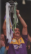 Martin Storey leads Wexford to their 6th All-Ireland title.