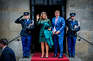 6-12-2017 AMSTERDAM - King Willem-Alexander, Queen Maxima, Princess Beatrix, Prince Constantijn, Princess Laurentien and Princess Mabel are present at the presentation of the Grand Prince Claus Award 2017 to the Brazilian filmmaker and rights activist Vincent Carelli and the Chinese designer new media and environmental activist Ma Jun. ROBIN UTRECHT<br /> <br /> <br /> 6-12-2017 AMSTERDAM - Koning Willem-Alexander, Koningin Maxima,&nbsp;Prinses Beatrix, Prins Constantijn, Prinses Laurentien en Prinses Mabel zijn aanwezig bij de uitreiking van de Grote Prins Claus Prijs 2017 aan de Braziliaanse filmmaker en rechtenactivist Vincent Carelli en de Chinese ontwerper nieuwe media en milieuactivist Ma Jun.&nbsp;ROBIN UTRECHT