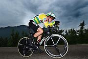 Rohan Dennis (AUS - BMC) during the 101th Tour of Italy, Giro d'Italia 2018, stage 16, Trento - Rovereto 34.5 km on May 22, 2018 in Italy - Photo Dario Belingheri / BettiniPhoto / ProSportsImages / DPPI