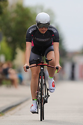 26.06.2015, Einhausen, GER, Deutsche Strassen Meisterschaften, im Bild Kerstin Schulz (RSV Dueren) // during the German Road Championships at Einhausen, Germany on 2015/06/26. EXPA Pictures © 2015, PhotoCredit: EXPA/ Eibner-Pressefoto/ Bermel<br /> <br /> *****ATTENTION - OUT of GER*****