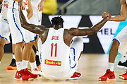 Andray Blatche #11 of Philippines during the Australia v Philippines, 1st Round, Group B, Asian Qualifier at the Margaret Court Arena, Melbourne, Australia on 22 February 2018. Picture by Martin Keep.
