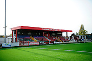 The Robins ground before the Ryman League - Div One South match between Carshalton Athletic and South Park FC at War Memorial Sports Ground, Carshalton, United Kingdom on 19 November 2016. Photo by Jon Bromley.