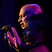 """Singer/fiidler """"Big Daddy"""" performs with Vaud and the Villains at The Music Hall in Portsmouth, NH. July 2012."""