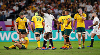 Rugby Union - 2019 Rugby World Cup - Quarter-Final: England vs. Australia<br /> <br /> Maro Itoje of England celebrates at Oita Stadium, Oita Prefecture.<br /> <br /> COLORSPORT/LYNNE CAMERON