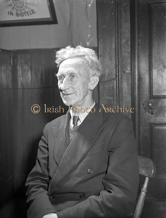 Ballinasloe Tinker Housing Story - Mr James Riddell, Member of Urban Council.28/01/1957