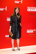 Géraldine Pailhas arrive au Fouquets pour le repas après les César 2014, Restaurant le Fouquet's