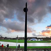 Nederland, Amsterdam , 2 januari 2012..Wifi mast op het hoogste punt in Westerpark, waardoor het hele park bereik heeft..Foto:Jean-Pierre Jans