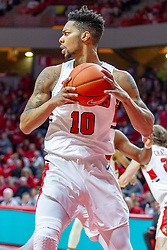 NORMAL, IL - February 16: Phil Fayne during a college basketball game between the ISU Redbirds and the Bradley Braves on February 16 2019 at Redbird Arena in Normal, IL. (Photo by Alan Look)