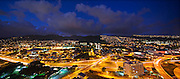 University of Hawaii, Twilight, Manoa Valley, Honolulu, Oahu, Hawaii