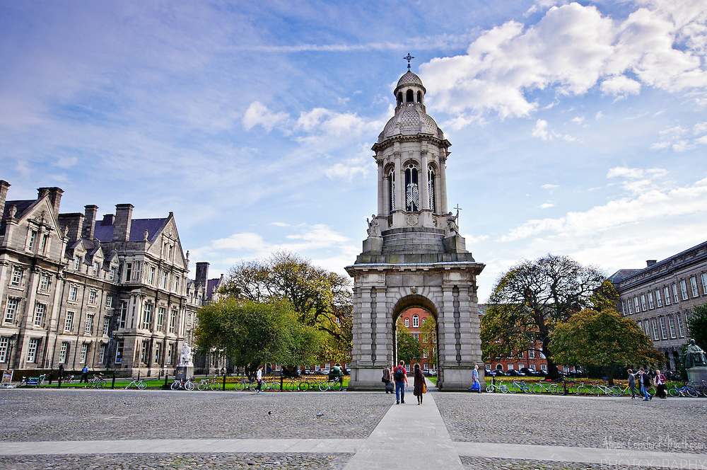 Trinity College is the home of the famous Book of Kells. It is situated in the heart of Dublin, Ireland.