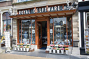 Royal Deftware china shop, Delft, Netherlands