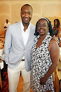 24 June 2010- Miami Beach, Florida- l to r: Jeff Friday and Ruth Paul, SAGIndie at the The 2010 American Black Film Festival Founder's Brunch held at Emeril's on June 24, 2010. Photo Credit: Terrence Jennings/Sipa