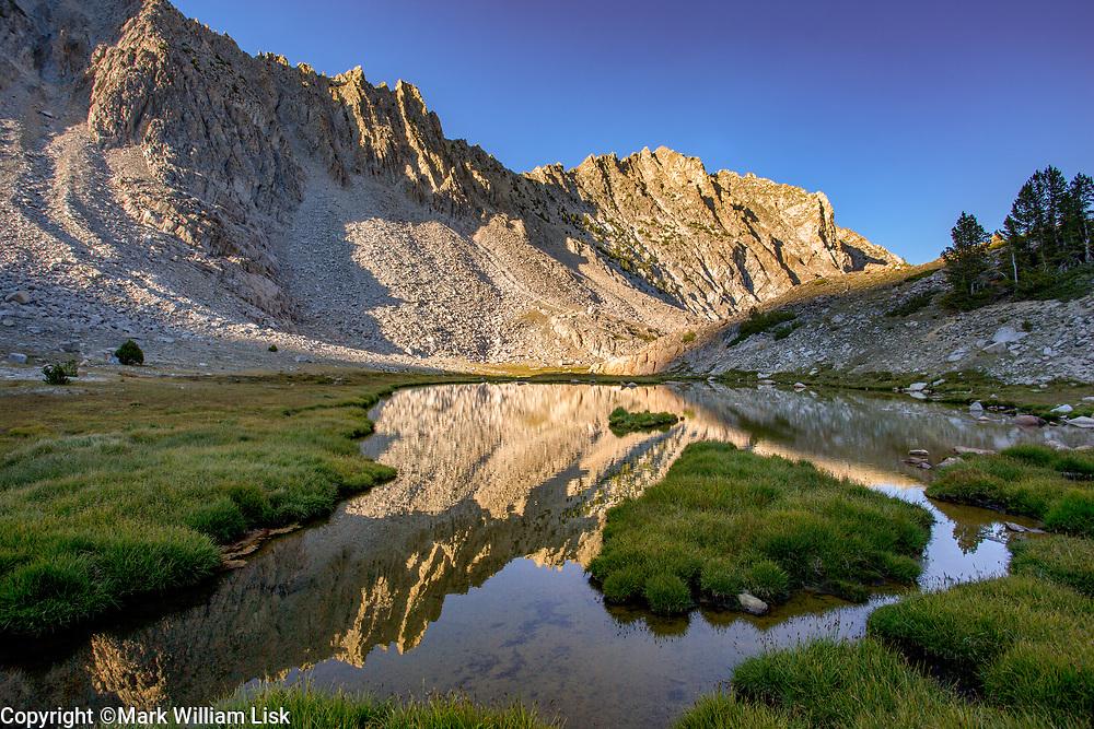 Neck Lake, White Cloud Wilderness.