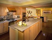 Kitchen of the Lifestages home shot for Masco Presskit. 1999