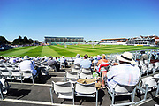Perfect Weather - The County Ground under clear sunny skies during the Specsavers County Champ Div 1 match between Somerset County Cricket Club and Hampshire County Cricket Club at the Cooper Associates County Ground, Taunton, United Kingdom on 26 May 2017. Photo by Graham Hunt.
