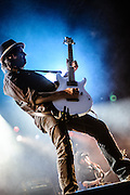 Phil Campbell/Motorhead performing at the Rock A Field Festival in Luxembourg, Europe on June 23, 2012
