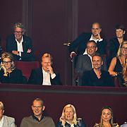 NLD/Amsterdam/20101102- Feestavond viering 50ste verjaardag Rene Froger, Ronald Koeman en partner Bartina Borderveld, Erik Kusters en Estelle Gullit - Cruijff
