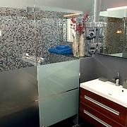 NLD/Eemnes/20060921 - Perspresentatie de Gouden Kooi, villa, douche, badkamer