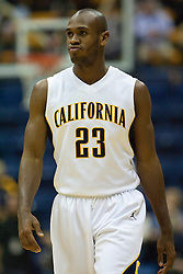 January 9, 2010; Berkeley, CA, USA;  California Golden Bears guard Patrick Christopher (23) before the game against the Southern California Trojans at the Haas Pavilion.  California defeated USC 67-59.
