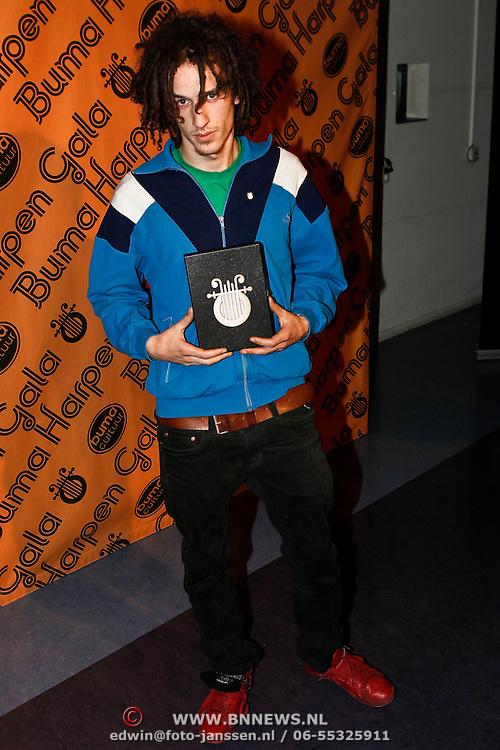 NLD/Hilversum/20100303 - Harpengala 2010, Kyteman, Zilveren Harp winnaar, Colin Benders