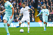 Leeds United midfielder Mateusz Klich (43) passes the ball during the EFL Sky Bet Championship match between Leeds United and Queens Park Rangers at Elland Road, Leeds, England on 2 November 2019.