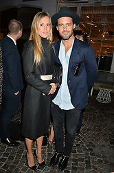 SPENCER MATTHEWS and MORGANE ROBART at the Bluebird's End of Summer Party with Taylor Morris held at Bluebird, 350 King's Road, London on 29th September 2016.