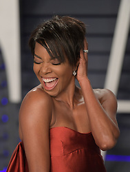 February 24, 2019 - Beverly Hills, California, U.S - Gabrielle Union at the 2019 Vanity Fair Oscar Party held at the Wallis Annenberg Center in Beverly Hills, California on Sunday February 24, 2019. JAVIER ROJAS/PI (Credit Image: © Prensa Internacional via ZUMA Wire)