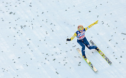 03.01.2016, Bergisel Schanze, Innsbruck, AUT, FIS Weltcup Ski Sprung, Vierschanzentournee, Bewerb, im Bild Noriaki Kasai (JPN) // Noriaki Kasai of Japan during his Competition Jump of Four Hills Tournament of FIS Ski Jumping World Cup at the Bergisel Schanze, Innsbruck, Austria on 2016/01/03. EXPA Pictures © 2016, PhotoCredit: EXPA/ JFK