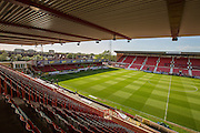 The County Ground during the Sky Bet League 1 Play Off Second Leg match between Swindon Town and Sheffield Utd at the County Ground, Swindon, England on 11 May 2015. Photo by Shane Healey.