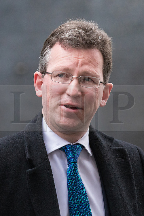 © Licensed to London News Pictures. 07/03/2017. London, UK. Attorney General Jeremy Wright leaves 10 Downing Street. Photo credit: Rob Pinney/LNP