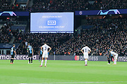 VAR (video arbitrage) MAURO ICARDI (PSG) scored a goal, celebration, during the UEFA Champions League, Group A football match between Paris Saint-Germain and Club Brugge on November 6, 2019 at Parc des Princes stadium in Paris, France - Photo Stephane Allaman / ProSportsImages / DPPI