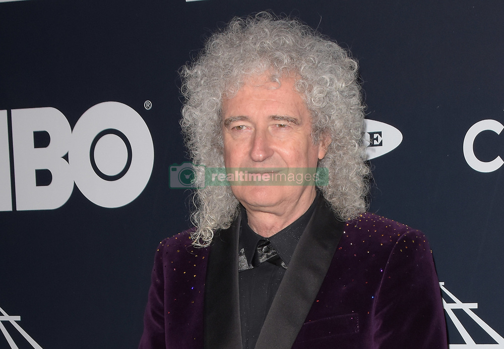March 30, 2019 - Brooklyn, New York, USA - NEW YORK, NEW YORK - MARCH 29: Brian May attends the 2019 Rock & Roll Hall Of Fame Induction Ceremony at Barclays Center on March 29, 2019 in New York City. Photo: imageSPACE (Credit Image: © Imagespace via ZUMA Wire)