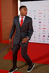 LIVERPOOL, ENGLAND - Tuesday, May 9, 2017: Liverpool's Daniel Sturridge arrives on the red carpet for the Liverpool FC Players' Awards 2017 at Anfield. (Pic by David Rawcliffe/Propaganda)