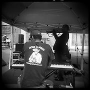 Blues Musicians at Juke Joint Festival, Clarksdale, Mississippi