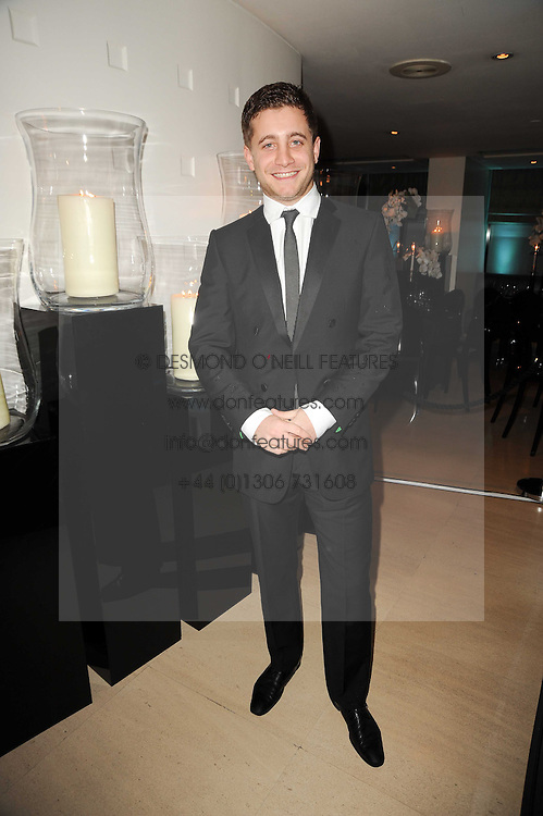 TYRONE WOOD at the launch party for 'Promise', a new capsule ring collection created by Cheryl Cole and de Grisogono held at Nobu, Park Lane, London on 29th September 2010.
