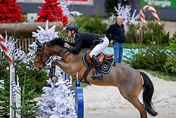 FREDRICSON Peder (SWE), H&M All In<br /> Genf - CHI Geneve Rolex Grand Slam 2019<br /> Prix des Vins de Genève<br /> Internationales Springen Fehler/Zeit<br /> International Jumping Competition 1m45<br /> Table A: Against the Clock<br /> 12. Dezember 2019<br /> © www.sportfotos-lafrentz.de/Stefan Lafrentz