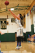 during the girls basketball game between Vergennes and Winooski at Winooski High School on Wednesday night December 9, 2015 in Winooski. (BRIAN JENKINS/for the FREE PRESS)