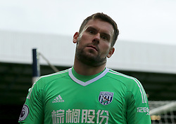 Ben Foster of West Bromwich Albion pulls a face at the camera as the clock ticks down - Mandatory by-line: Paul Roberts/JMP - 16/09/2017 - FOOTBALL - The Hawthorns - West Bromwich, England - West Bromwich Albion v West Ham United - Premier League