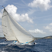 Back in the 60s, classic yachts, which were gathered in English Harbour Antigua, had begun chartering and the captains and crews challenged each other to a race down to Guadeloupe and back to celebrate the end of the charter season. From this informal race, Antigua Race Week was formalised in 1967, and in those days all of the yachts were classics. As the years grew on, the classic yachts were slowly outnumbered but the faster sleeker modern racing yachts and 24 years later the Classic Class had diminished to a few boats and was abandoned in 1987. However this same year seven classic yachts turned out and were placed in Cruising Class 3 with the bare boats. The class was so unmatched that it was downright dangerous, so Captain Uli Pruesse hosted a meeting onboard Aschanti of Saba with several classic skippers and in 1988 the Antigua Classic Yacht Regatta was born, with seven boats.<br />