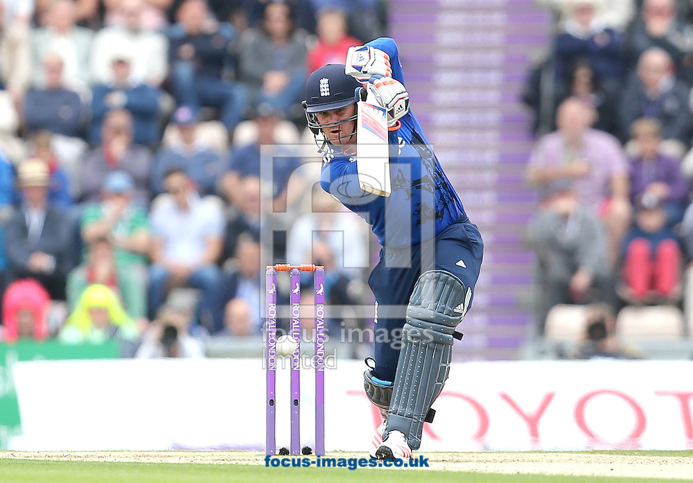 Jason Roy of England during the Royal London One Day Series match at the Ageas Bowl, West End<br /> Picture by Paul Terry/Focus Images Ltd +44 7545 642257<br /> 14/06/2015