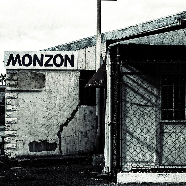 Monzon car repair in downtown Fullerton, CA.