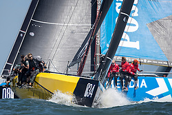 First day of inshore racing, Offshore World Championship, the Netherlands, Tuesday 17th of July 2018.