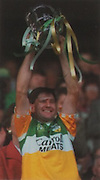 Martin Hanamy with the McCarthy Cup.