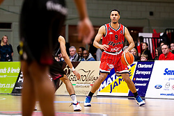 Chris Taylor of Bristol Flyers - Photo mandatory by-line: Robbie Stephenson/JMP - 11/01/2019 - BASKETBALL - Leicester Sports Arena - Leicester, England - Leicester Riders v Bristol Flyers - British Basketball League Championship